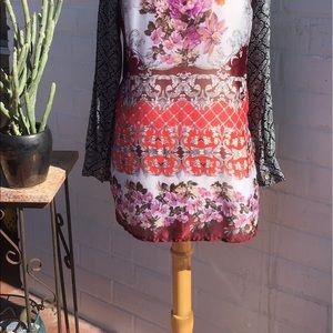 Aratta silent journey Tops - Floral  long sleeve Ararat Silent Journey blouse